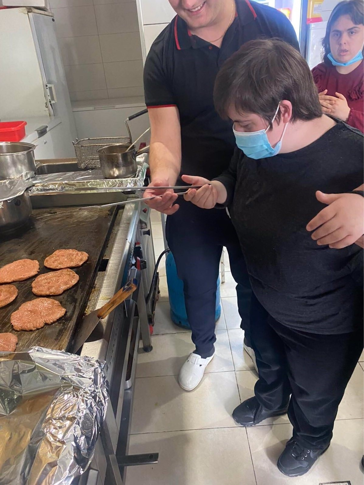 Culinary training for people with disabilities