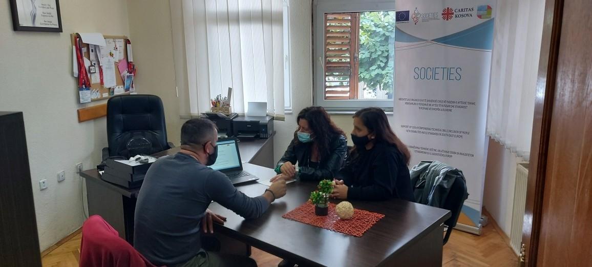 Sesione informuese në lidhje me skemën e nën-granteve për OSHC-të në kuadër të SOCIETIES 2