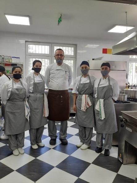 Culinary trainings in Diakonie Kosova