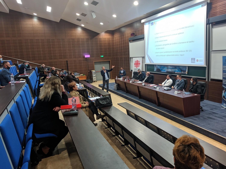 """Konferenca vjetore e projektit: """"Fuqizimi i të rinjve dhe grave drejt punësimit në rajonet e Ferizajt dhe Mitrovicës"""""""