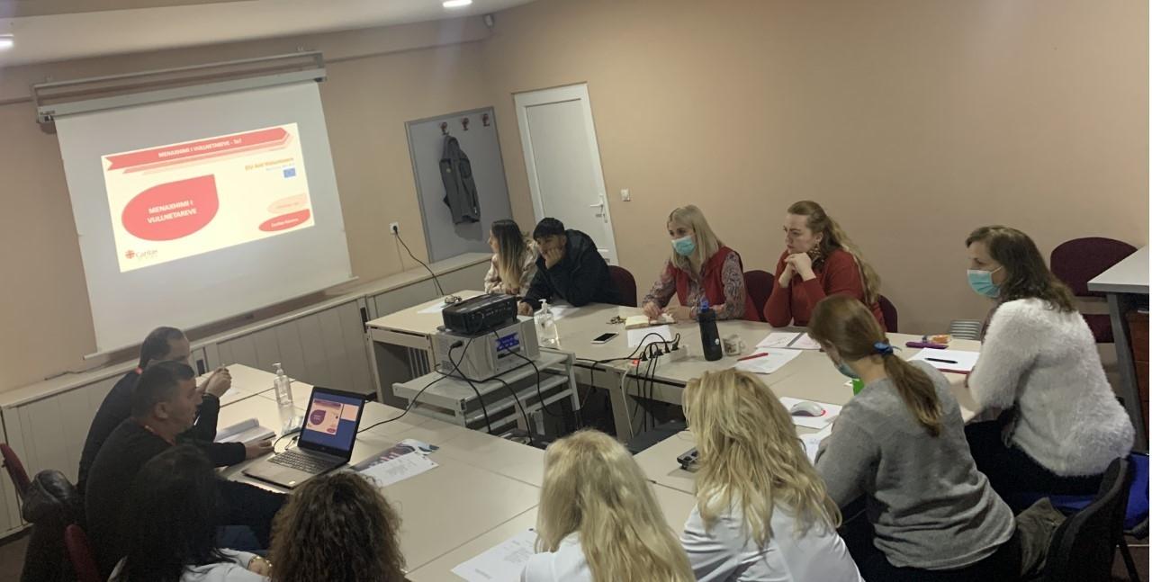 Trajnimi i stafit të Caritas Kosova për Menaxhimin e Vullnetarëve